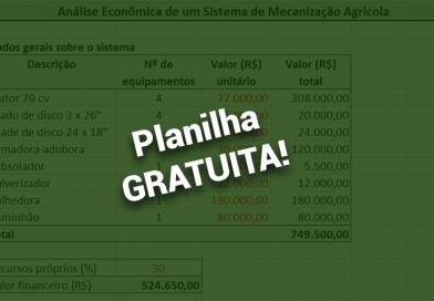 Descubra como fazer uma análise econômica da sua mecanização agrícola